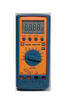 portable digital multimeter max. 1000 V AC, 750 V DC, 20 A | DMM 129A Tecpel  Co., Ltd.