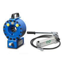 portable hose crimping machine max. ø 46 mm, max. 100 t | TUBOMATIC H47 E OP