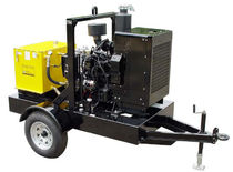 portable hydraulic power unit max. 53 gpm (201 l/min) | HT100DJV Hydra-Tech Pumps