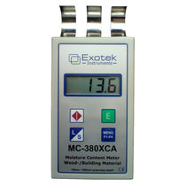portable moisture meter for wood and building material MC-380XCA Exotek Instruments