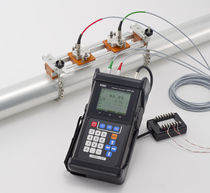 portable non-invasive clamp-on ultrasonic flow-meter and energy meter for liquids ø 13 - 5000 mm, IP65 | UFP-20 TOKYO KEIKI INC.