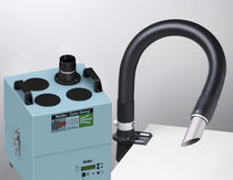 portable solder fume extractor with extraction arm 230 m³/h | Zero Smog 4 V Weller