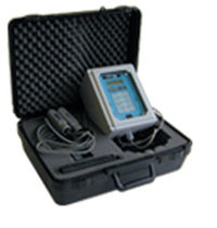portable ultrasonic Doppler flow-meter for liquids Sono-Trak TM EMCO Flow Systems
