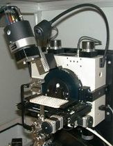 powder X-ray diffractometer STOE STADI P COMBI Micro Photonics