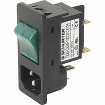 power entry module (PEM) 10 - 15 A, 250 V | 6135 SCHURTER