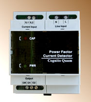 power factor monitor 120 - 480 V, 5 A | PFCDxx series  Cognito Quam Electrotechnologies Ltd