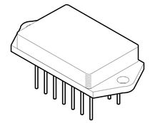 power operational amplifier (op-amp) hybrid integrated circuit  M.S. Kennedy Corporation