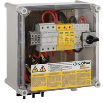 pre-assembled electric distribution box for photovoltaic applications StringBox series  Cabur
