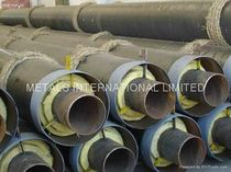 preinsulated ductile iron pipe EN448,EN489 Metals International Limited