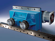 preloaded rack and pinion drive  LICAT S.r.l.