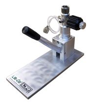 pressure calibration hand pump max. 60 bar | LPP-60 T DRUCK &amp; TEMPERATUR Leitenberger