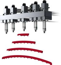 prewired hot runner system for sequential injection molding  Synventive Molding Solutions