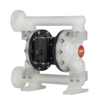 "process plastic air operated double diaphragm pump 1"", 53 gpm 
