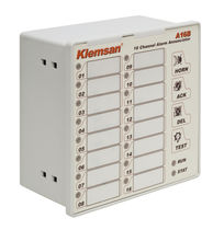 programmable alarm display panel  Klemsan Automation