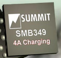 programmable battery-charger controller integrated circuit 4 A, 4.35 - 16 V | SMB349 Summit Microelectronics