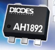 programmable linear Hall effect magnetic proximity sensor 1.6 - 3.6 V, 4.3 µA | AH1892 Diodes Incorporated