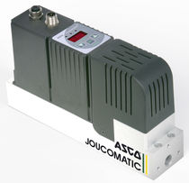 proportional flow regulator with digital controller 20 - 500 l/min, 4 - 8 bar | FLOWTRONIC D 607 series ASCO NUMATICS