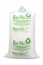 protective packaging : biodegradable chips ECO FLO Green Light Products