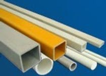 pultruded GRP composite profile (glass fiber reinforced plastics)  Fibrolux