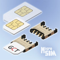 push-pull micro SIM connector  Global Connector Technology