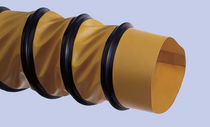 PVC coated polyester fabric flexible air duct DN 150 - 1 000, max. 0.64 bar | FLEXADUX® PS-HL, PS-gelb SCHAUENBURG Ruhrkunststoff GmbH