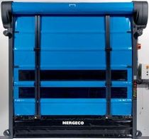 PVC high speed fold-up door max. 4 x 4.5 m | Star 5 Trekking series NERGECO