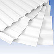 PVC plastic sheet PALRUF® Palram Industries Ltd.