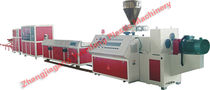 PVC profile extrusion line YFY-150, YFY-240 Zhangjiagang Yuanfeng Plastic Machinery Co., Ltd.