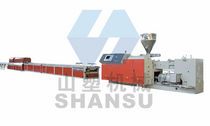PVC window profile extrusion line max. 400 kg/h | SSC Qingdao Shansu Plastic Extrusion Equipment