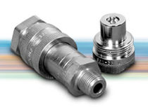 "quick coupling for high pressure hydraulic circuit 1/4 - 3/8"", 10 000 psi 