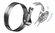 quick-locking hose clamp  Precision Brand Products
