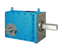rack and pinion drive for injection molding machine max. 450 kN | POSIRACK PIV Drives