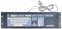 rack-mount industrial keyboard with touchpad PIK-220 Shenzhen NORCO Intelligent Technology CO., Ltd