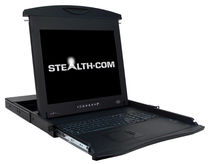 rack-mount LCD/TFT display 17"