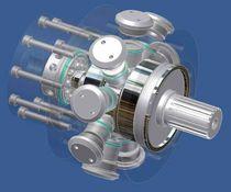 radial piston hydraulic motor  HAUMEA S.r.l.