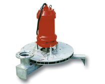 radial submersible aerator for wastewater treatment max. 10 m | AR series Bombas Ideal