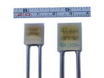 radial thermal fuse 20, 25 A | PD, QD series Xiamen SET electronics Co.,Ltd