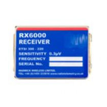 radio module 458.50 - 458.95 MHz, 420.00 - 470.00 MHz | RX6000  Warwick Wireless