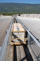rail-guided automatic vehicle  Quadra Concrete