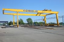 rail mounted gantry crane RGC 30t - 1 CIMOLAI TECHNOLOGY SpA