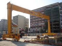 rail mounted gantry crane RGC 22 - 9 CIMOLAI TECHNOLOGY SpA
