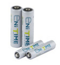 rechargeable cylindrical Ni-MH battery 1.2 V, max. 2.1 Ah | ENiTIME series    YUASA