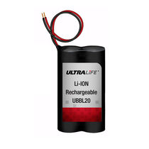 rechargeable Li-ion battery 6 - 8.4 V, 2.4 Ah | UBBL20 Ultralife