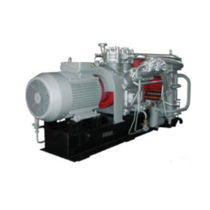 reciprocating compressor unit (stationary) 2.5 m3/min, max 40 MPa | AVSh-2.5/400 Ural Compressor Plant, JSC