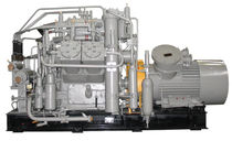 reciprocating natural gas compressor (stationary) 5 - 10 m3/min, max. 25 MPa | AGSh Ural Compressor Plant, JSC