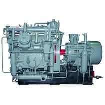 reciprocating natural gas compressor (stationary) 2 m3/min, max. 20 MPa | 6GSh  Ural Compressor Plant, JSC