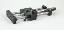 "recirculating ball-bearing rodless pneumatic linear actuator ø 0.75"" / 1.125"" / 1.50"", 18"" AGI Automation Components"