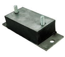 rectangular anti-vibration mount max. 1 475 lbs Advanced Antivibration Components