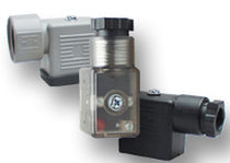 rectangular connector for solenoid valve mPm  Lynch Fluid Controls Inc.