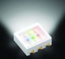 red green blue (RGB) tri-color LED  ROHM Semiconductor
